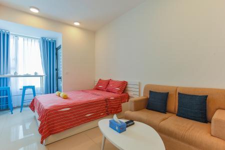 Bán căn office-tel RiverGate Residence 1PN, đầy đủ nội thất, view đẹp