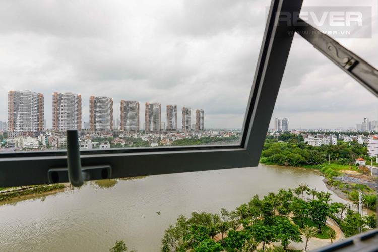View Cho thuê căn hộ Diamond Island - Đảo Kim Cương 1PN, tầng thấp, đầy đủ nội thất, view trực diện sông