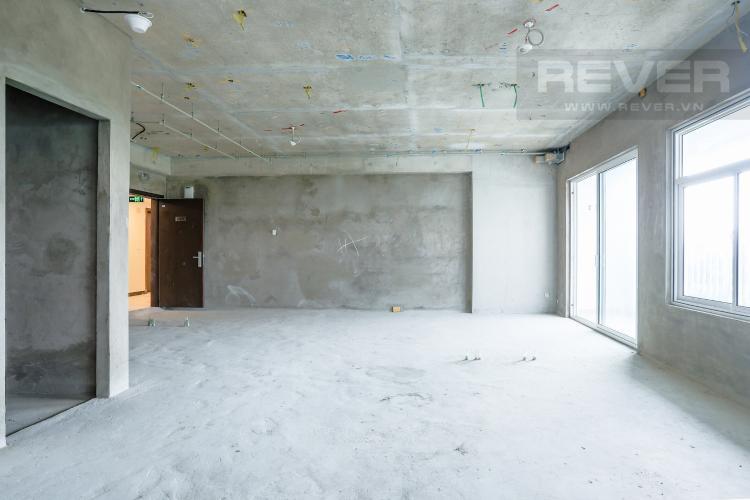 Không Gian Phòng Khách Bán căn hộ Sunrise Riverside tầng thấp tháp G1, 3PN