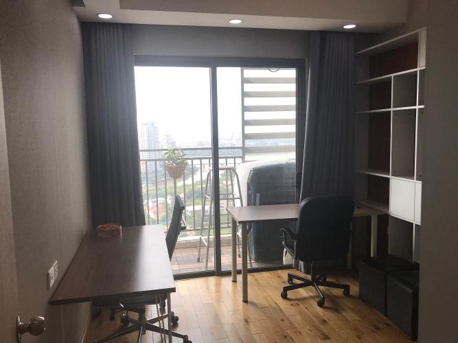 Phòng khách căn hộ The Sun Avenue Căn hộ The Sun Avenue tầng cao, đón view sông.