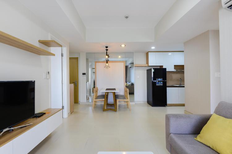 Phòng Khách Căn hộ Masteri Thảo Điền tầng trung, tháp T5, 2PN đầy đủ nội thất, view hồ bơi