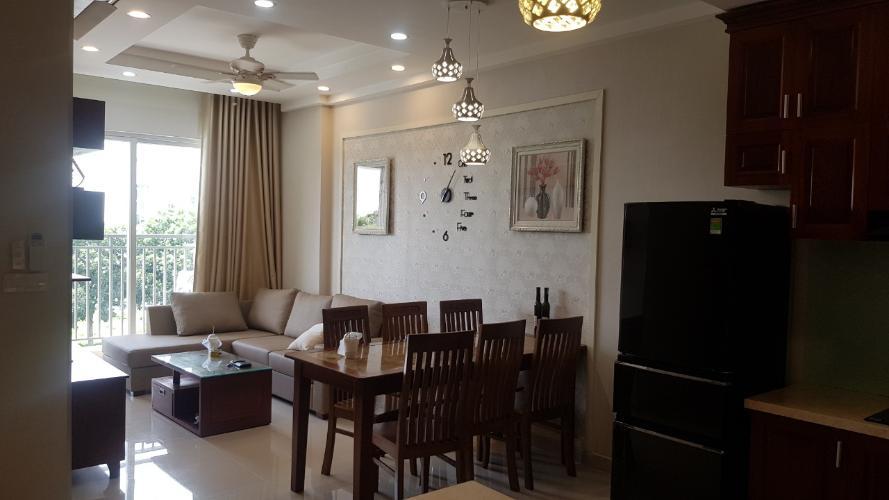 tổng quát căn hộ Sunrise Riverside Bán căn hộ tầng thấp Sunrise Riverside đầy đủ nội thất.