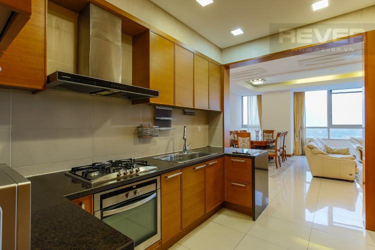 Phòng Bếp Căn hộ Xi Riverview Palace 3 phòng ngủ tầng trung block 101 nội thất có sẵn