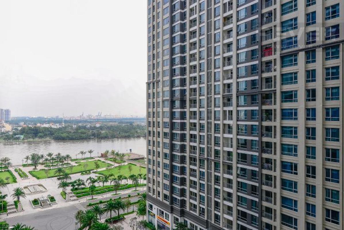 View phong nho Bán căn hộ Vinhomes Central Park 2PN, diện tích 72m2, đầy đủ nội thất, view sông và công viên