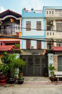 Cho thuê nhà phố 3 tầng, phường Bình An, Q2, diện tích đất 92m2, đường trước nhà 2 ô tô tránh nhau