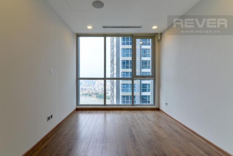Phòng Ngủ 1 Cho thuê căn hộ Vinhomes Central Park 2PN tầng cao tháp Park 6, đầy đủ nội thất, view sông mát mẻ
