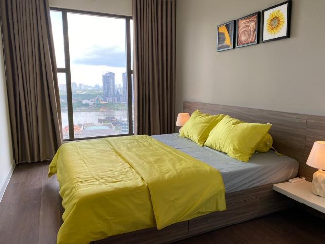 Phòng ngủ Saigon Royal, Quận 4 Căn hộ Saigon Royal tầng cao, view Bitexco.