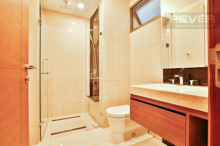 Toilet 2 Căn hộ Nassim Thảo Điền nằm ở tầng cao, tháp B, gồm 2 phòng ngủ, view sông
