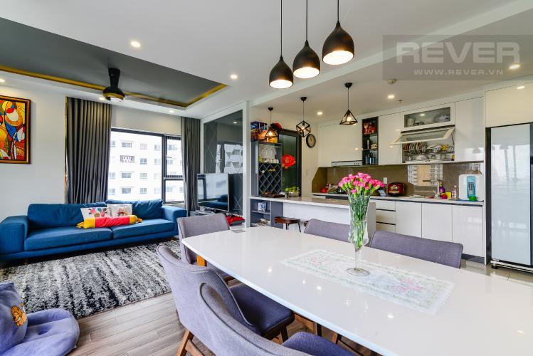 Phòng Khách Bán căn hộ New City Thủ Thiêm 3PN, tháp Babylon, đầy đủ nội thất, view công viên xanh mát