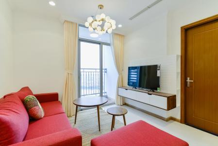 Căn hộ Vinhomes Central Park tầng cao L2, 1 phòng ngủ, đầy đủ nội thất