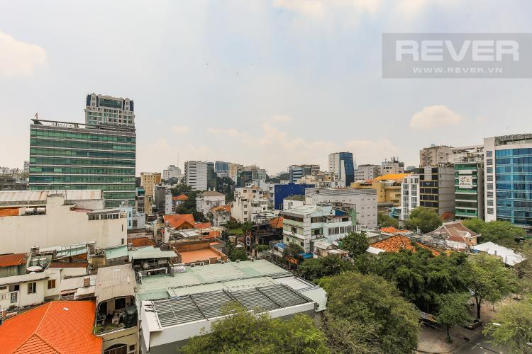 View Căn hộ Saigon Pavillon 2 phòng ngủ tầng thấp đầy đủ tiện nghi