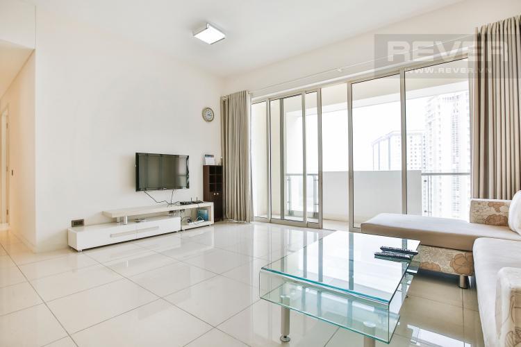 Phòng Khách Căn hộ The Estella An Phú 2 phòng ngủ tầng cao 1A đầy đủ nội thất
