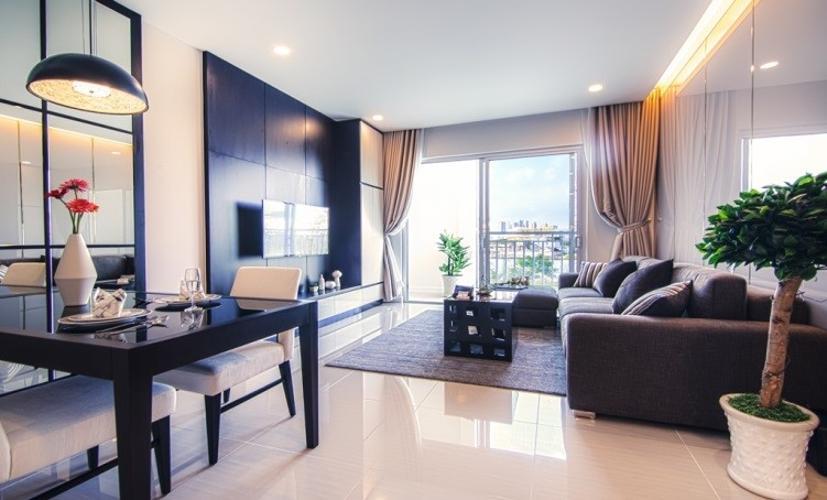 nhà mẫu phòng khách  Bán căn hộ Lavida Plus tầng cao, ban công thoáng mát, tiện ích đầy đủ.