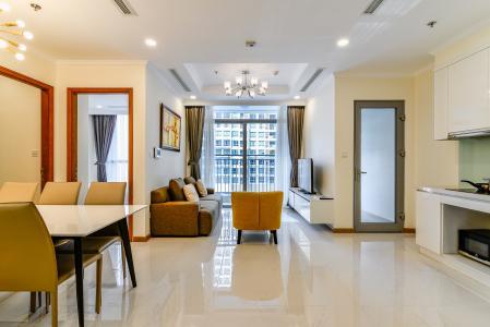 Bán căn hộ Vinhomes Central Park 2PN, đầy đủ nội thất, có thể dọn vào ở ngay