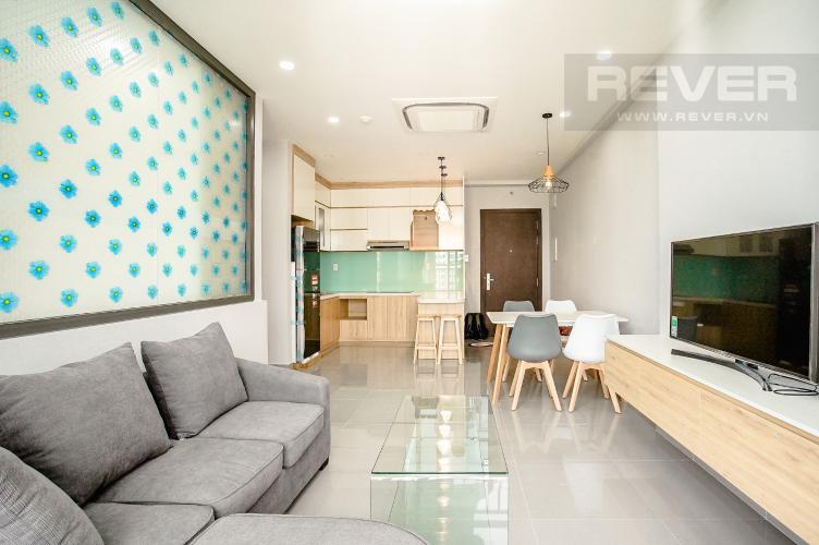 Phòng Khách Bán hoặc cho thuê căn hộ Sunrise Riverside 3PN, tầng trung, đầy đủ nội thất, view sông Rạch Dĩa
