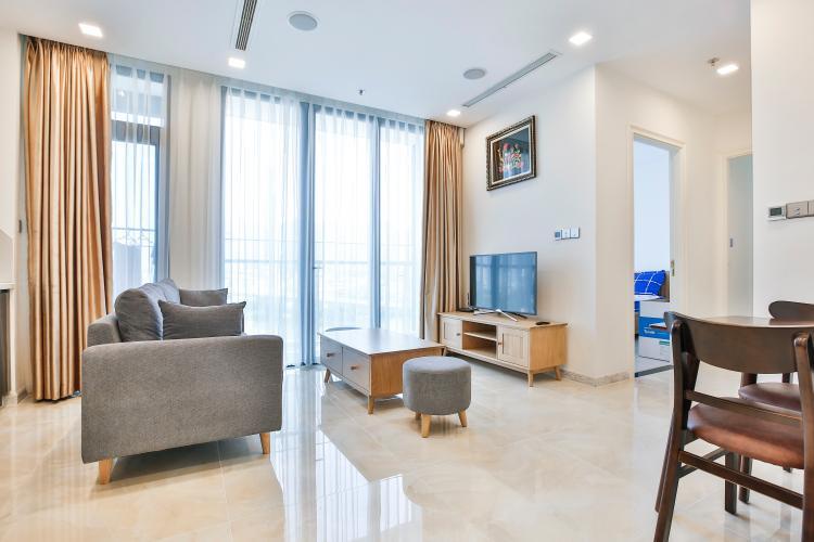 Phòng Khách Officetel Vinhomes Golden River 2 phòng ngủ tầng thấp Aqua 3
