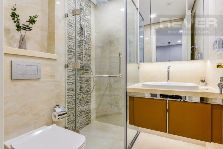 Phòng tắm Bán và cho thuê căn hộ Vinhomes Golden River tầng trung, 1PN đầy đủ nội thất, view sông