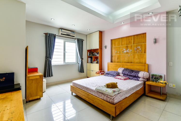 Phòng Ngủ 1 Căn hộ Chung Cư Khánh Hội 1 tầng thấp 2 phòng ngủ nội thất đầy đủ