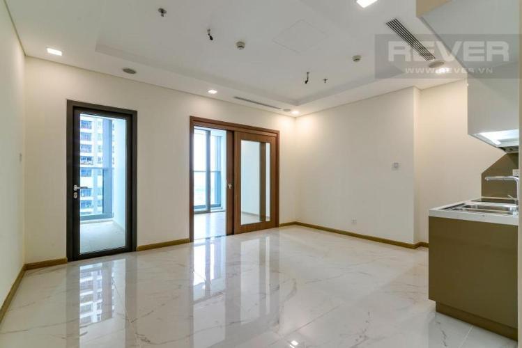 Bán căn hộ Vinhomes Central Park 1 phòng ngủ, tháp Landmark 81, nội thất cơ bản, view sông và cầu Sài Gòn