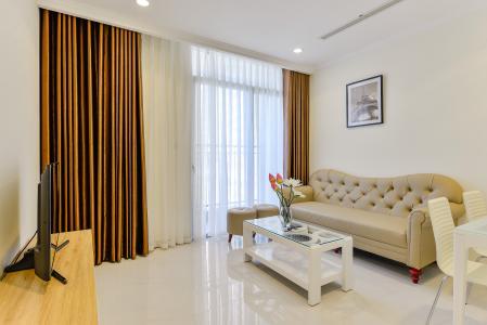 Căn hộ Vinhomes Central Park 1 phòng ngủ tầng cao L3 đầy đủ nội thất