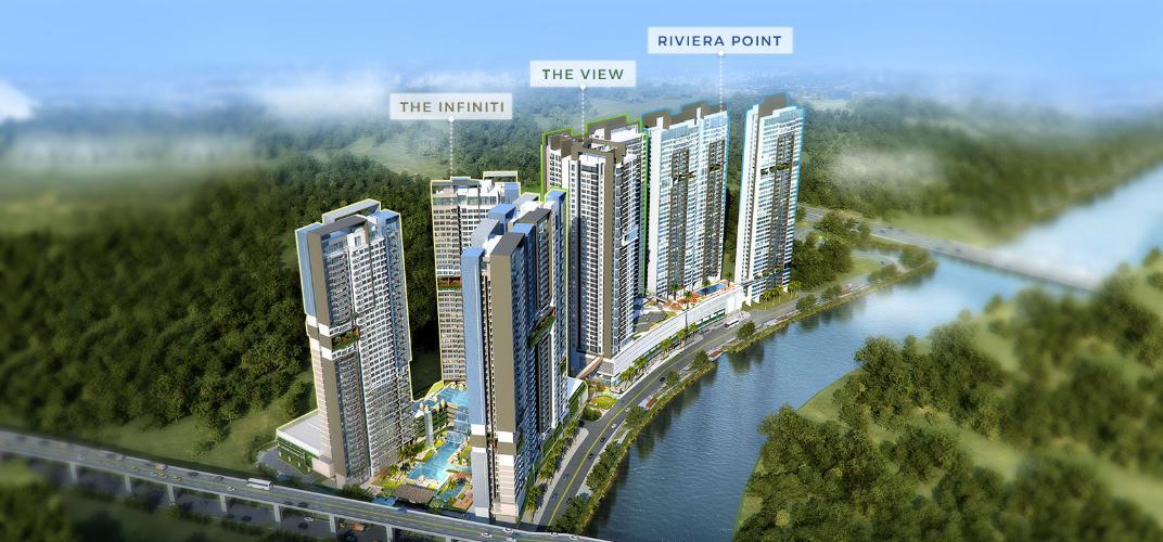 Riviera Point, Quận 7 Căn hộ Riviera Point tầng 28 nội thất đầy đủ, view thành phố tuyệt đẹp.