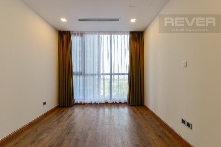 phòng ngủ 3 Căn hộ Vinhomes Central Park tầng cao Park 6 nội thất cơ bản, view sông