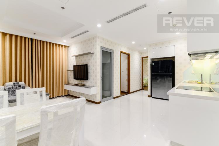 Tổng Quan Căn hộ Vinhomes Central Park 2 phòng ngủ tầng trung L5 đầy đủ nội thất