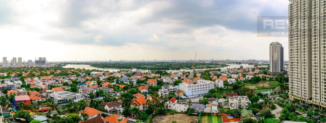 View Bán căn hộ Masteri Thảo Điền 2PN, đầy đủ nội thất, view sông thoáng mát