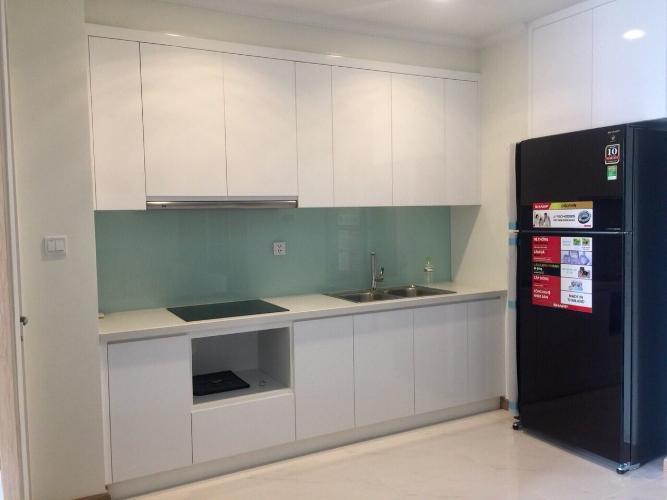 Phòng bếp Vinhomes Central Park Căn hộ Vinhomes Central Park tầng cao, bàn giao nội thất đầy đủ
