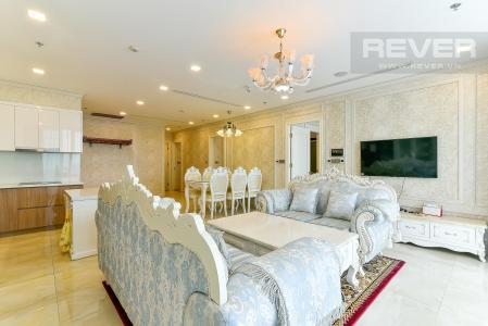 Bán hoặc cho thuê căn hộ Vinhomes Golden River 3PN, đầy đủ nội thất, view sông Sài Gòn và Bitexco
