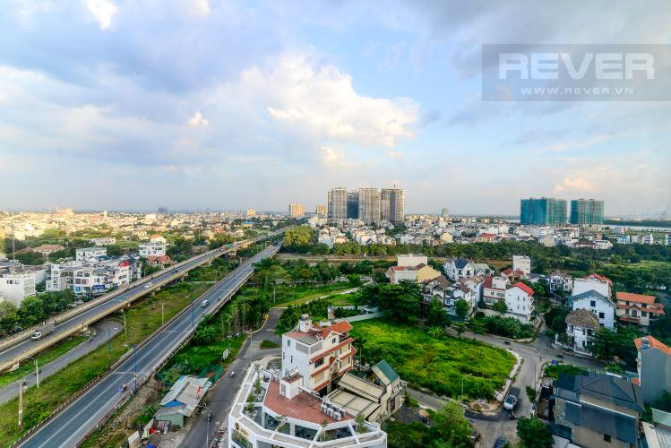 View Cho thuê căn hộ officetel The Sun Avenue, diện tích 32m2, nội thất cơ bản, view khu dân cư