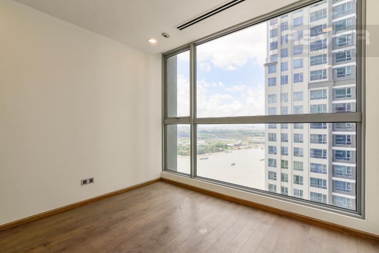 Phòng ngủ 1 Căn góc Vinhomes Central Park 4 phòng ngủ, nội thất cơ bản, view sông