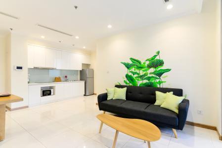 Cho thuê căn hộ Vinhomes Central Park 1PN, đầy đủ nội thất, view mé sông Sài Gòn