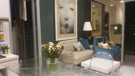 Cho thuê căn hộ Vinhomes Central Park 2PN, tháp Landmark 1, đầy đủ nội thất, view mé sông và công viên