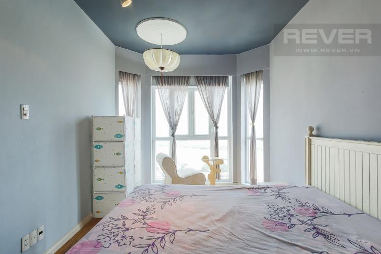 Phòng Ngủ 1 Căn hộ chung cư Copac Quận 4 2PN đầy đủ nội thất, view sông