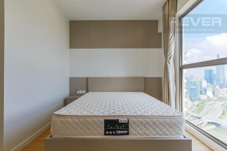Phòng Ngủ 2 Căn hộ Masteri Millennium tầng cao, view sông, 2PN nội thấy đầy đủ