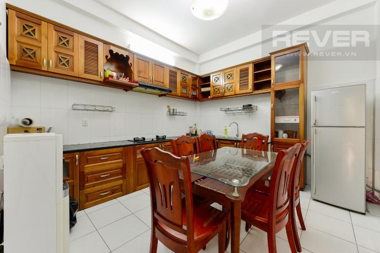 Bếp Nhà phố 4 phòng ngủ đường Lý Thường Kiệt Quận 11 diện tích 168m2