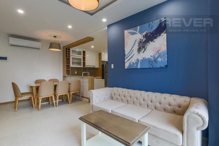 Phòng Khách Căn hộ New City Thủ Thiêm tầng trung, tháp Venice, 3PN nội thất đầy đủ