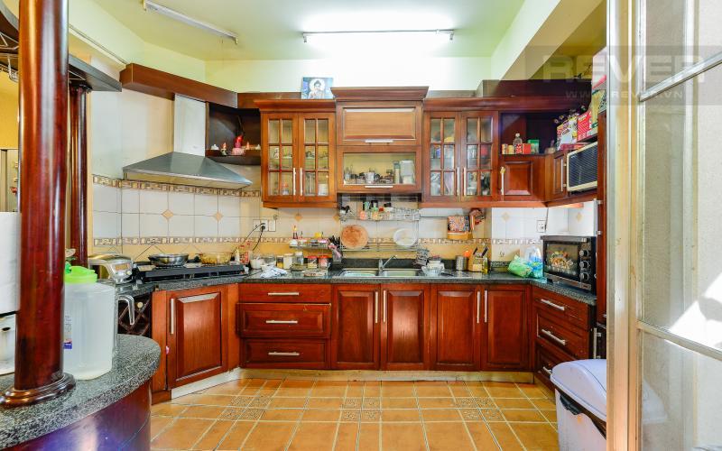 Phòng bếp tầng trệt Nhà phố 3 phòng ngủ mặt tiền Nguyễn Cửu Vân Quận Bình Thạnh