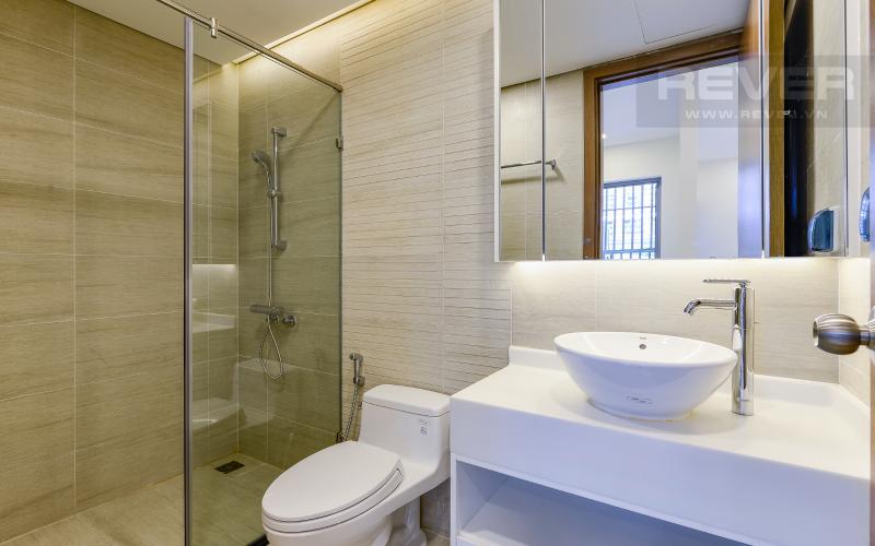 phòng tắm Căn OfficeTel Vinhomes Central Park 1 phòng ngủ tầng thấp Park 1 nội thất cơ bản