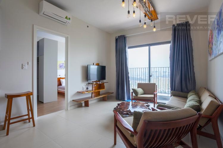Phòng Khách Căn hộ Masteri Thảo Điền 2 phòng ngủ tầng cao T5 hướng Đông Nam