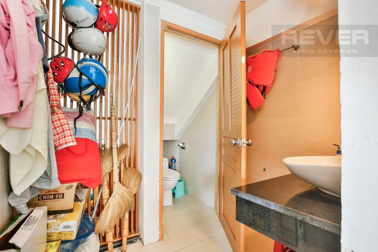 Toilet 1 Nhà phố 3 phòng ngủ khu Hoja Villa, Phước Long B, Quận 9