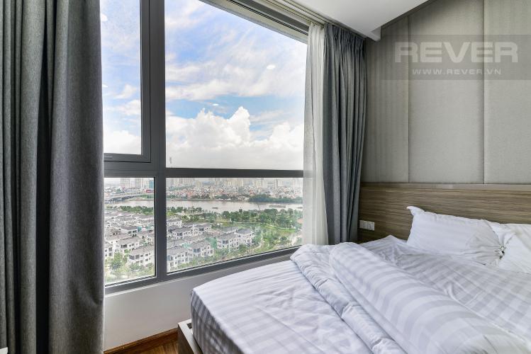 Phòng Ngủ 2 Cho thuê căn hộ Vinhomes Central Park tầng cao, tháp Landmark 2 2PN, đầy đủ nội thất