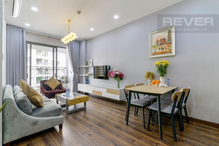 Cho thuê căn hộ Saigon Royal 2PN, diện tích 79m2, đầy đủ nội thất, view hồ bơi thoáng mát