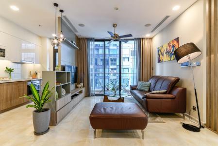 Cho thuê căn hộ Vinhomes Golden River tầng cao 3PN đầy đủ nội thất view sông