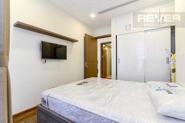Phòng Ngủ 2 Cho thuê căn hộ Vinhomes Central Park 2PN, tầng thấp, tháp Park 5, đầy đủ nội thất