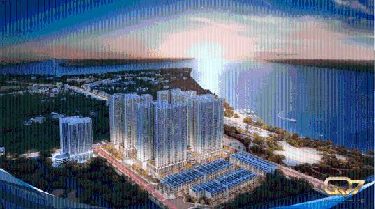 Bán căn hộ 1 phòng ngủ Q7 Saigon Riverside diện tích 53m2, nội thất cơ bản, chưa bàn giao