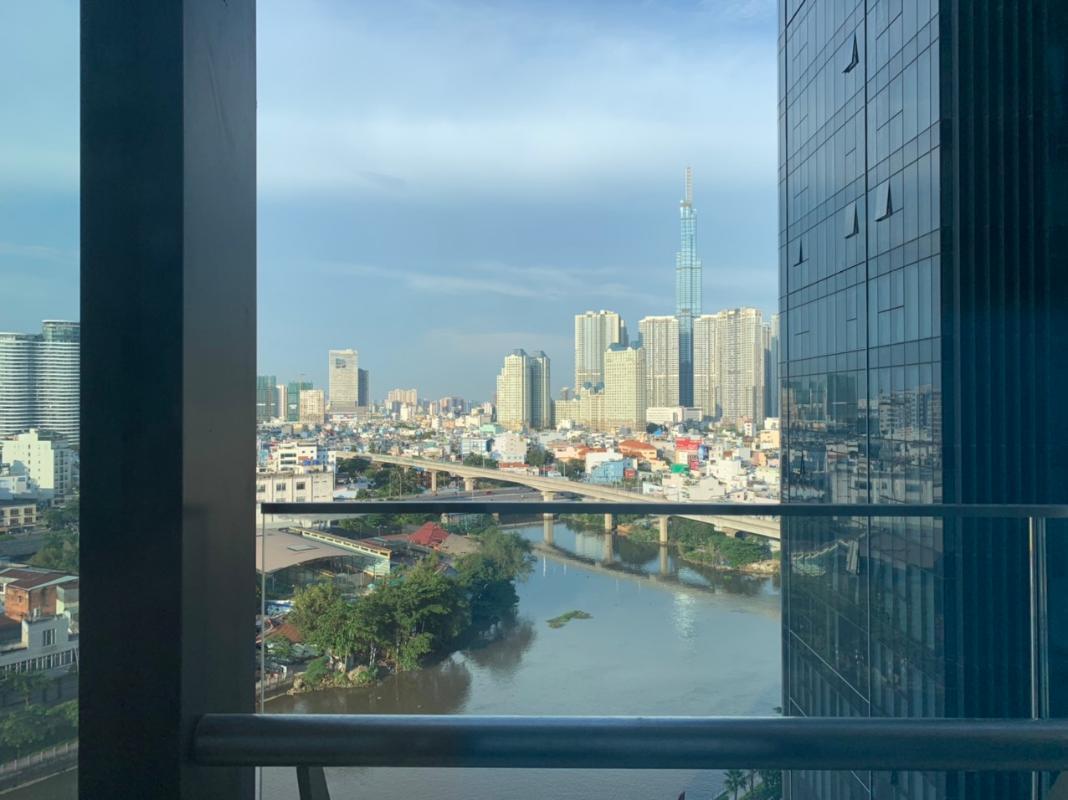 62a8fc32cea928f771b8 Cho thuê căn hộ 2 phòng ngủ Vinhomes Golden River, tầng thấp, đầy đủ nội thất, view sông và Landmark 81
