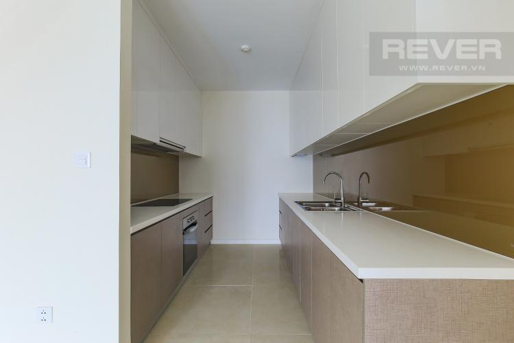 Phòng Bếp Cho thuê căn hộ Masteri Millennium tầng cao 2PN view sông