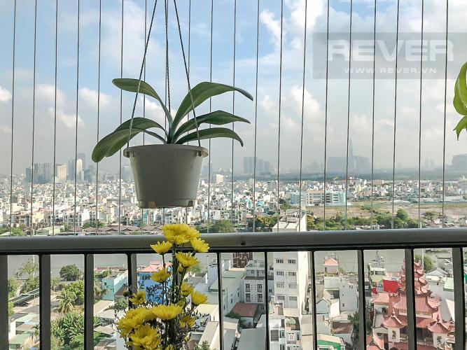 View Ban Công Bán hoặc cho thuê căn hộ M-One Nam Sài Gòn 2 phòng ngủ, đầy đủ nội thất